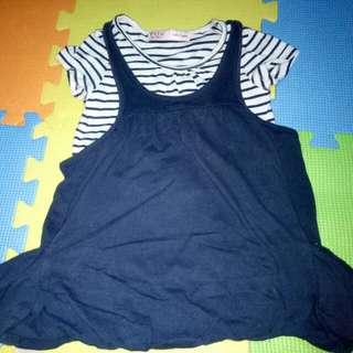 Fox Baby Dress(Size 18-24Months)