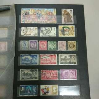 Europe and ANZ Stamps