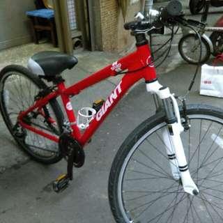 捷安特 26吋腳踏車 21段變速 (車架 XS)