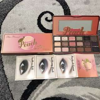 Too Faced Sweet Peach Eyeshadow Pallete