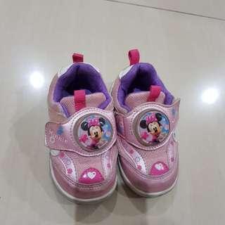 Sepatu disney minnie mouse baby 1-th