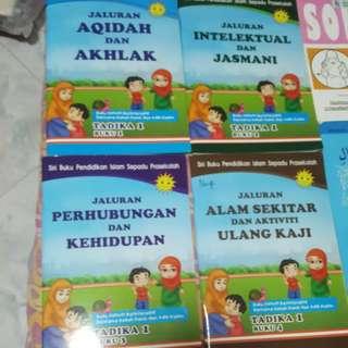 Andalus books Tadika 1 & 2