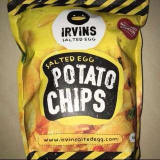 Irvins Salted Egg Chips (large pack)