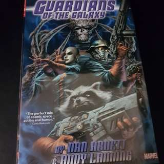 Guardians of the Galaxy by Abnett and Lanning Omnibus (Hardcover)