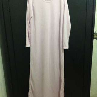 New Gamis Ungu Muda Mayoutfit