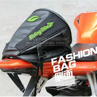 Motorcycle bag tail, bag motor, bag tank