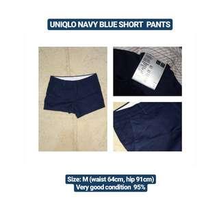UNIQLO Navy Blue Short Pants