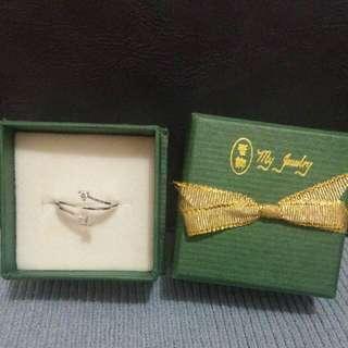 My Jewely 鑽石介指18k,11號