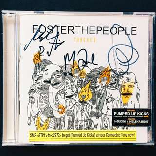 Autographed - Foster the People album