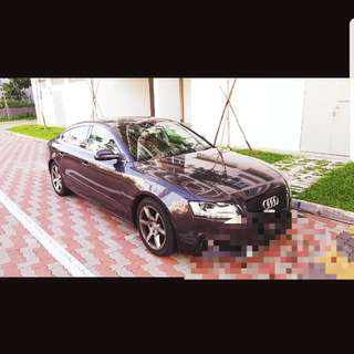 Perfect Audi A5 For Rent!