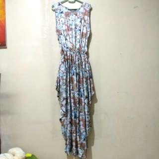 Sleveless Long Dress