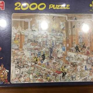 🚚 荷蘭拼圖 Jumbo - The Kitchen 2000 puzzle