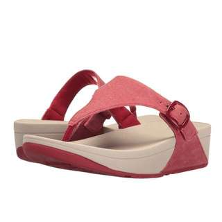 FitFlop The Skinny Canvas | Classic Red | US Women Size 5,6,7,8,9,10,11,12 | Fit Flop Sandal