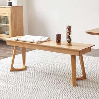 Nordic Solid Wood Bench