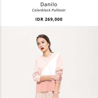 COTTONINK - Danilo Pullover Colorblock (FREE ONGKIR)