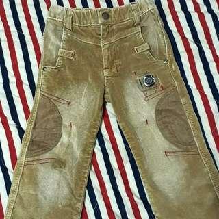 小童保暖長褲5號👖約3~4歲男童穿💕二手幼童長褲出清