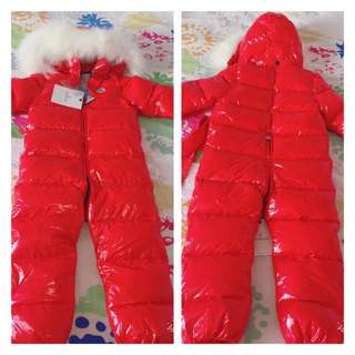 MONCLER Downfield Waterproof snowsuit