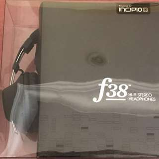[New] Incipio F38 Hi If Stereo Headphones (Brand new)