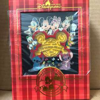 Pin Trading Fun Day 2011 Jumbo Pin 香港 迪士尼 徽章 Disney Pin