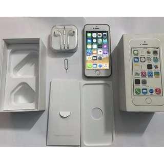 [Dijual] Iphone 5s Silver 16Gb FU Murah Nego LTE