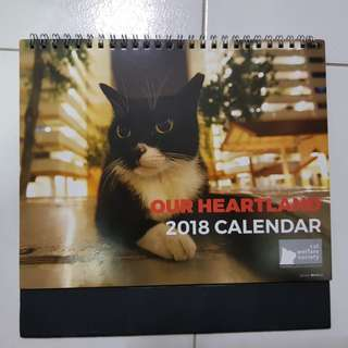 Cats Calendar 2018