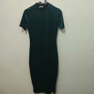 ZARA Dress Velvet size S