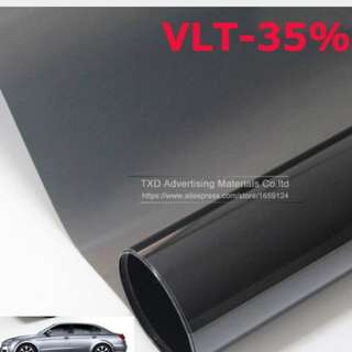 300mx50cm Best quality Solar control window film PET material Removable Car window tint film