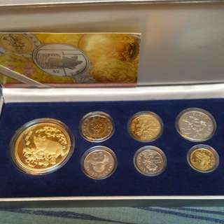 2007 Golden Boar coin set.