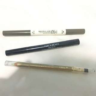 TAKE ALL!!! 2 Eyebrow products and one eye pencil