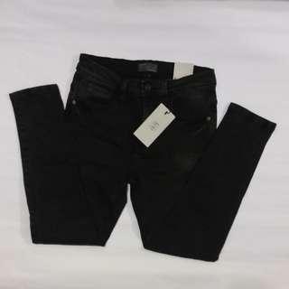 Zara Stone Washed Denim Jeans