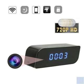 spy cam clock home security surveillance