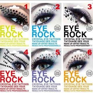 Jewel Event Eyes Makeup Crystal Face Stickers Diamond Glitter Sticker Bridal Party Makeup rhinestones