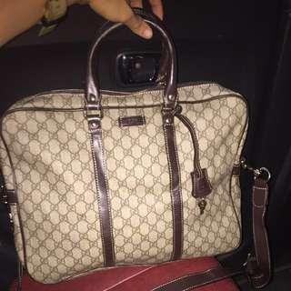 Gucci Men's Large Luggage / Messenger bag