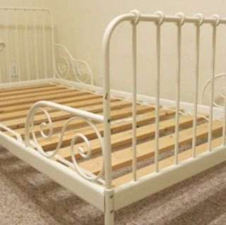 Ikea Extendable Bed Frame / Toddler Bed