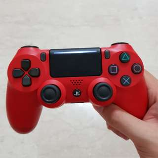 Ps4 red controller (latest generation)