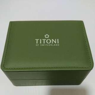 TITONI 錶盒