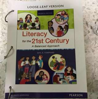 Literacy for the 21st century - a balanced approach