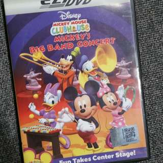 Mickey Mouse Clubhouse DVD 5pcs