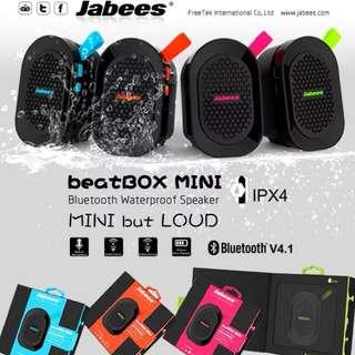 🤗超可愛🤗Jabees beatbox mini 藍芽喇叭 bluetooth speaker