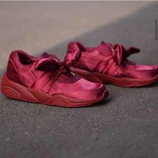 Puma fenty bow sneakers wanita cewek