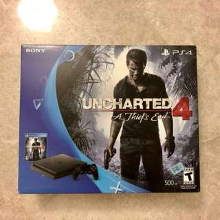 PS4 Uncharted 4 99% New