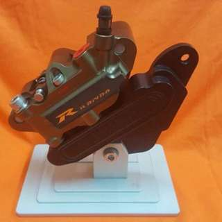 Brake calliper motorcycle with bracket