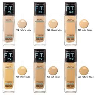 Fit me maybelline foundation