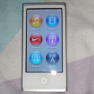Used iPod nano 7th gen Silver