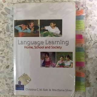 Language learning - Home, school and society