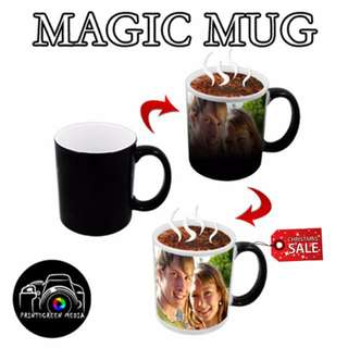 XMAS SPECIAL - PERSONALISED MAGIC MUG