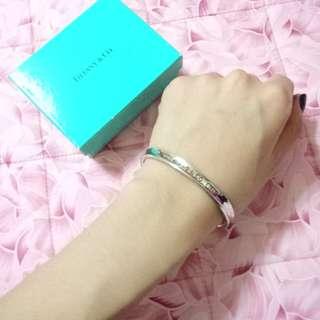 Tiffany & co 純銀手環