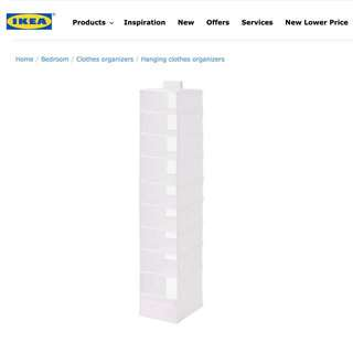 IKEA Skubb | Organizer with 9 Compartments