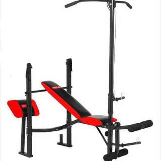 New Bench press with lateral pulldown