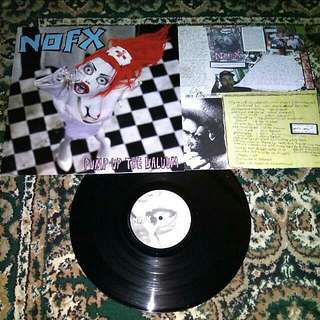 "NOFX ""Pump Up The Valuum"" Vinyl LP Record"